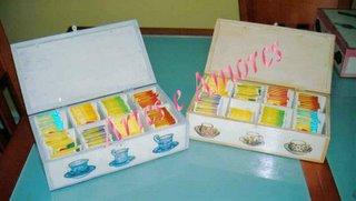 Caixas de Chá Grandes