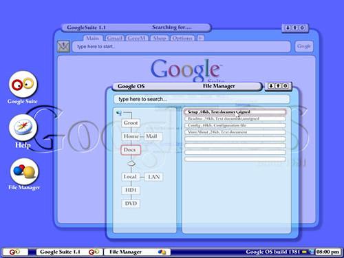 Google's version of Ubuntu: Goobuntu    it's for internal use only