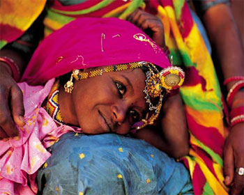 Young Girl from Rajasthan - Olivier Folmi