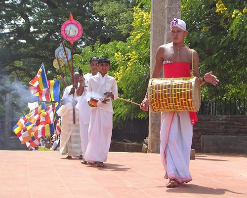 processione ad Anuradapura