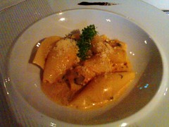 Conchiglie Pasta Served With Mascarpone Cream