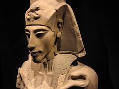 Magnifica escultura del faraón Ajenaton
