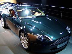 European Autoshow Brussels - Aston Martin V8 Vantage