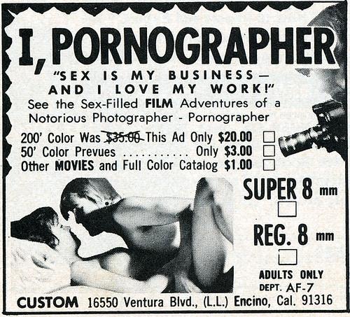 I, Pornographer
