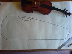 Calder violin design 1