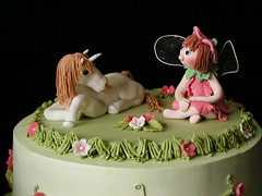 topper for fairy unicorn cake photo by JaneBK