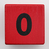 Alphabet Block zero