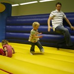 Bouncing with Libby and Uncle Andy<br/>19 Jan 2008