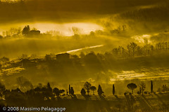 Brume Toscane 3 photo by Massimo Pelagagge