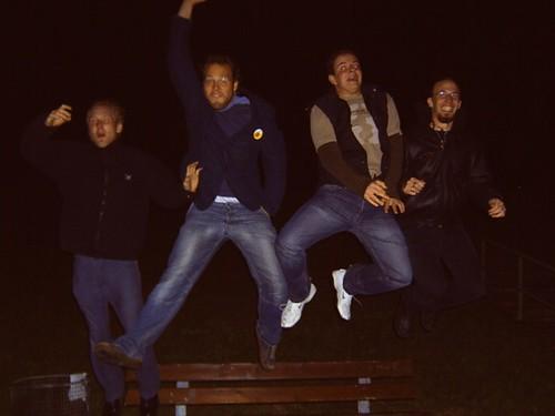Dyke-Jump in Bremerhaven