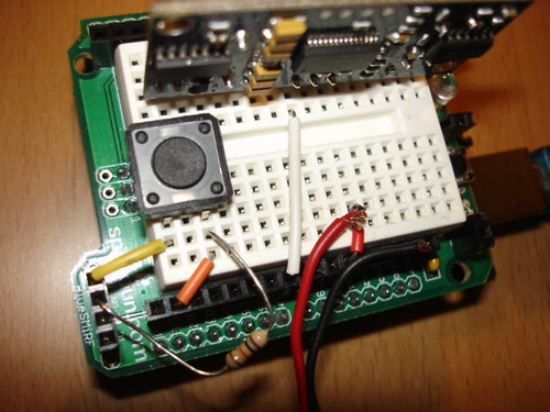 Arduino Theremin circuit