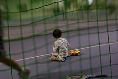 お姉さん座りでボールアップ (by detch*)