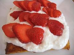 Feuilleté fraises
