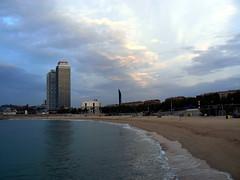 Barcelona Sky Line.- photo by ancama_99(toni)