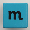 Alphabet Block m