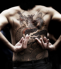 mythical monster - irezumi photo by ajpscs