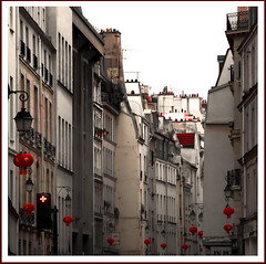 Rita Crane Photography: France / Paris / marais / street / vintage / buildings / beautiful / Rue du Temple, Paris photo by Rita Crane Photography