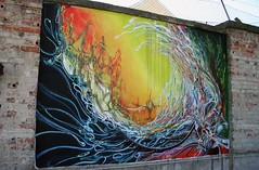 VSP Visual Street Performance 2007 @ Fabrica Braco de Prata, Lisbon, Portugal photo by Graffiti Land