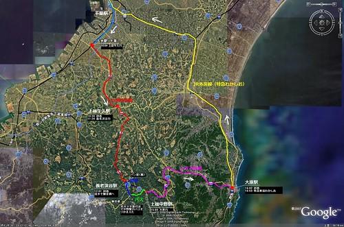 2008年1月26日 旅行(地図)