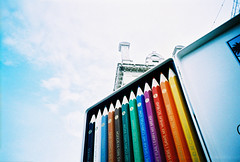 giant pencil case photo by lomokev