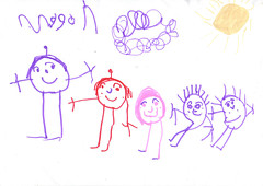 Family Drawing photo by Childrens Book Review
