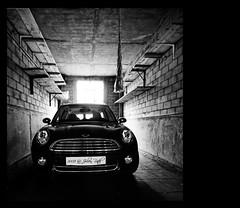 ~~ B&W Mini-Car ~~ photo by Julien Ratel ( Júllí Jónsson )