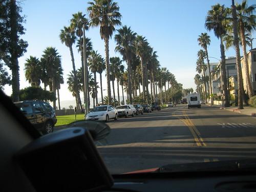 Street of Santa Monica