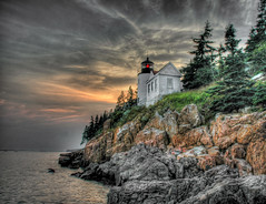 Bass Harbor Lighthouse, Acadia Maine photo by Acoustic Walden