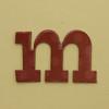 card letter m