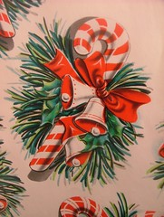1954 Christmas Wrapping Paper photo by cwalsh415