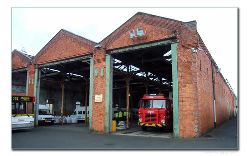 The old tram depot