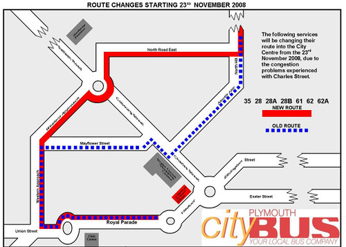 Citybus Map 3 North