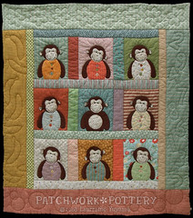 Monkey Quilt 2 photo by PatchworkPottery