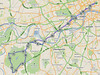 Today's cycle to Richmond Park (2D)