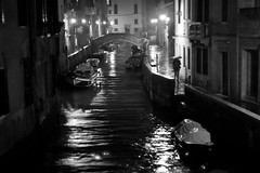 Pioggia Nera (Black Rain), Venice photo by flatworldsedge