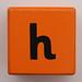 Alphabet Block h