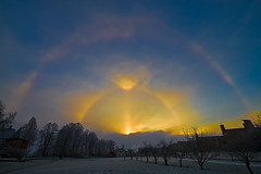 Sun Portal - Parhelion photo by Svein Nordrum