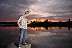 Self Portrait - Greenlake Fishin' photo by Sweendo