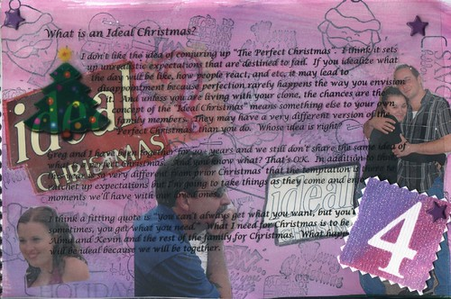 Dec 4 Journal your Christmas left Side