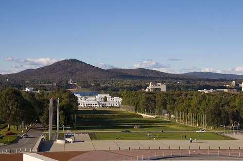 Mount Ainslie from Canberra