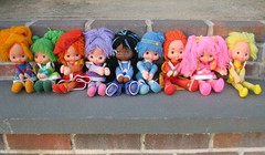 my rainbow brite collection photo by cybermelli