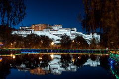 Potala and his mirror image photo by notti.at