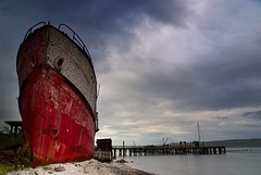 The Wreck of the Brico photo by Floating Imitations