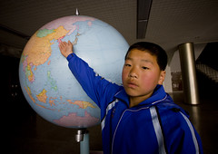 This is my country Songdowon International Children's Union Camp in Wonsan - North Korea photo by Eric Lafforgue