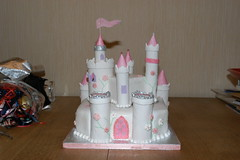 Fairy princess castle cake photo by britjap