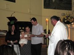 Charlottes Baptism