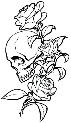 Posted by tattoo design at 1:22 AM. Labels: rose and skull