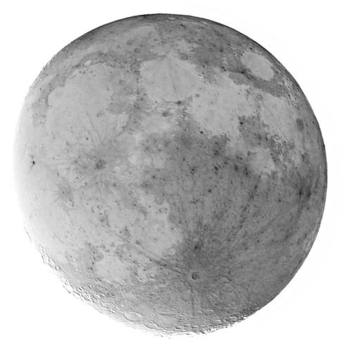 De maan, omgekeerd
