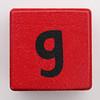 Alphabet Block g