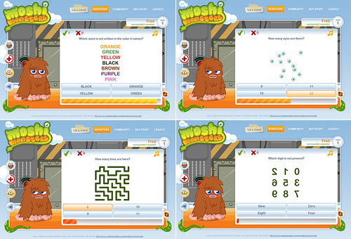 Moshi Monsters - Puzzles